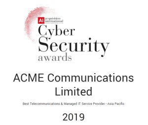 ACME awarded the Best Telecommunications and Managed IT service